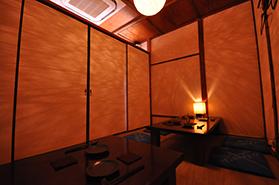 鉄板焼き和食大三の個室
